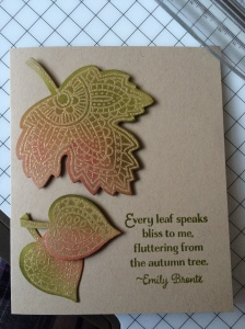 Lighthearted Leaves
