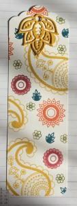 Paisley bookmark