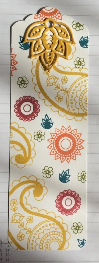Paisley bookmark
