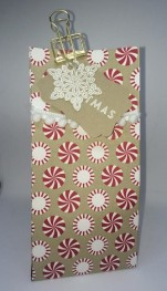 Candy Cane Lane Christmas Gift Bag
